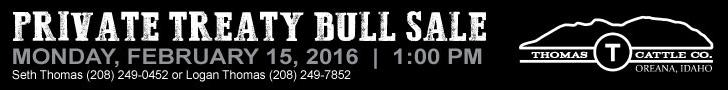 Thomas Cattle Company Bull Sale