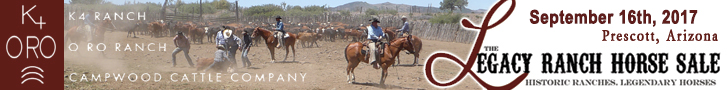 Legacy Ranch Horse Sale