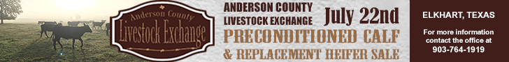 Anderson County Livestock Exchange - Preconditioned Calf & Replacement Heifer Sale