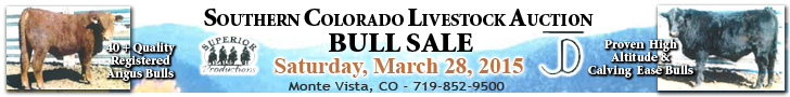 Southern Colorado Livestock Bull Sale - Cattle Mountain Ranch