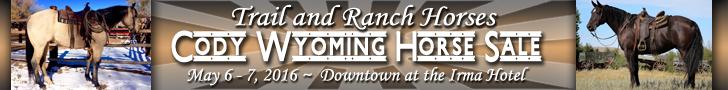 Cody Wyoming Horse Sale