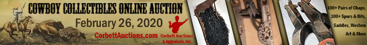 Corbett Auctions - Cowboy Collectible Online Auction