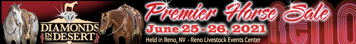 Diamonds in the Desert Premier Horse Sale - Reno, NV - June 25-26, 2021