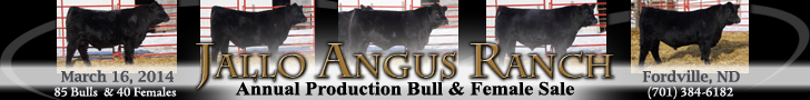 Jallo Angus Ranch Production Bull & Female Sale