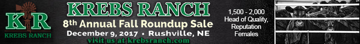 Krebs Ranch 8th Annual Fall Roundup Sale