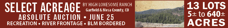 United Country - High Lonesome Ranch Auction