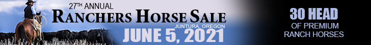 Ranchers Horse Sale - June 5, 2021