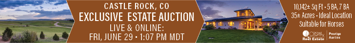 Castle Rock Colorado Estate Auction - June 29, 2018