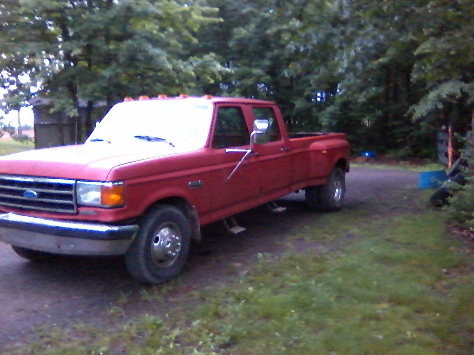 1991 ford f350 diesel engine