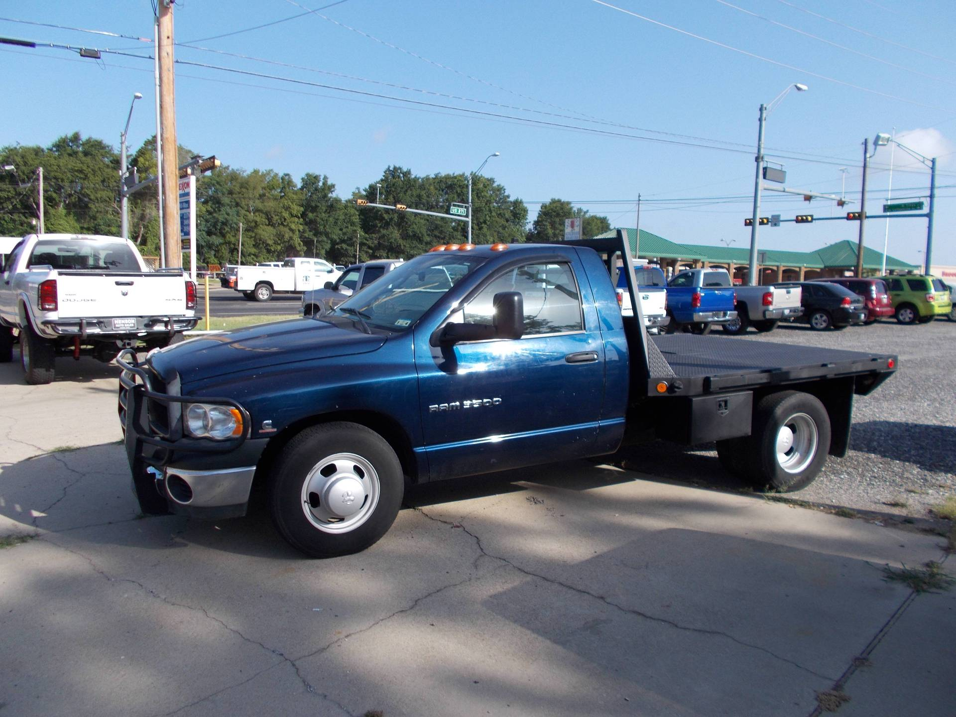 2005 DODGE 3500 REG CAB FLATBED