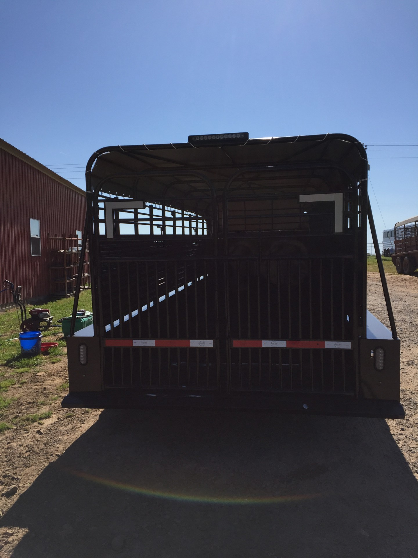 2016 Coose 24x6.8 stock trailer