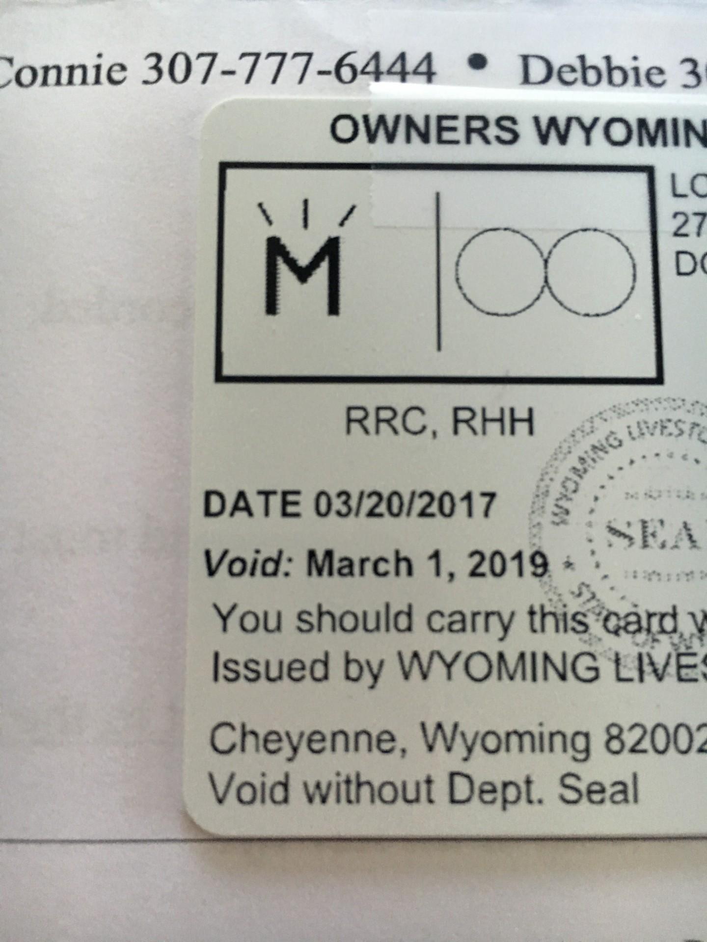 Quot M Quot Burst Wyoming