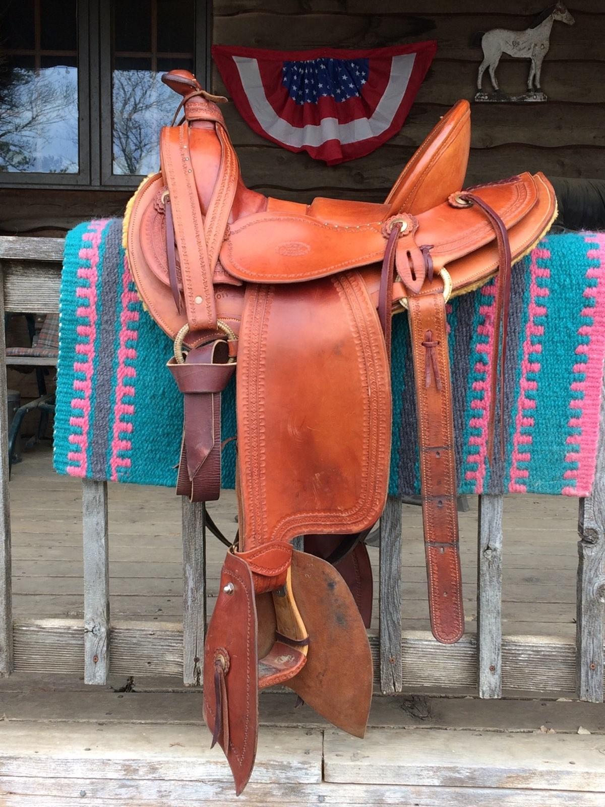 Custom Mark Nelson of Way West Saddlery