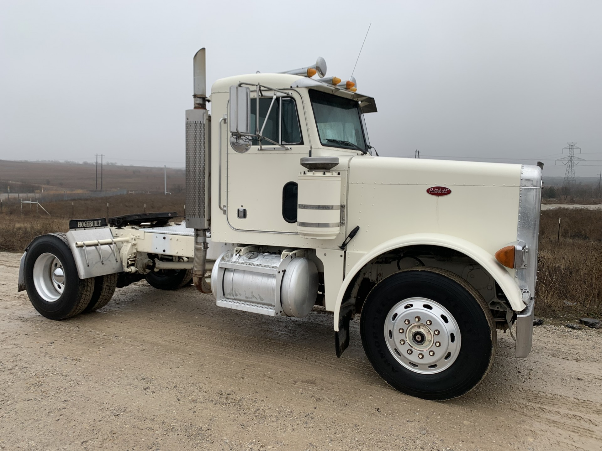 1990 379 Peterbilt Single Axle