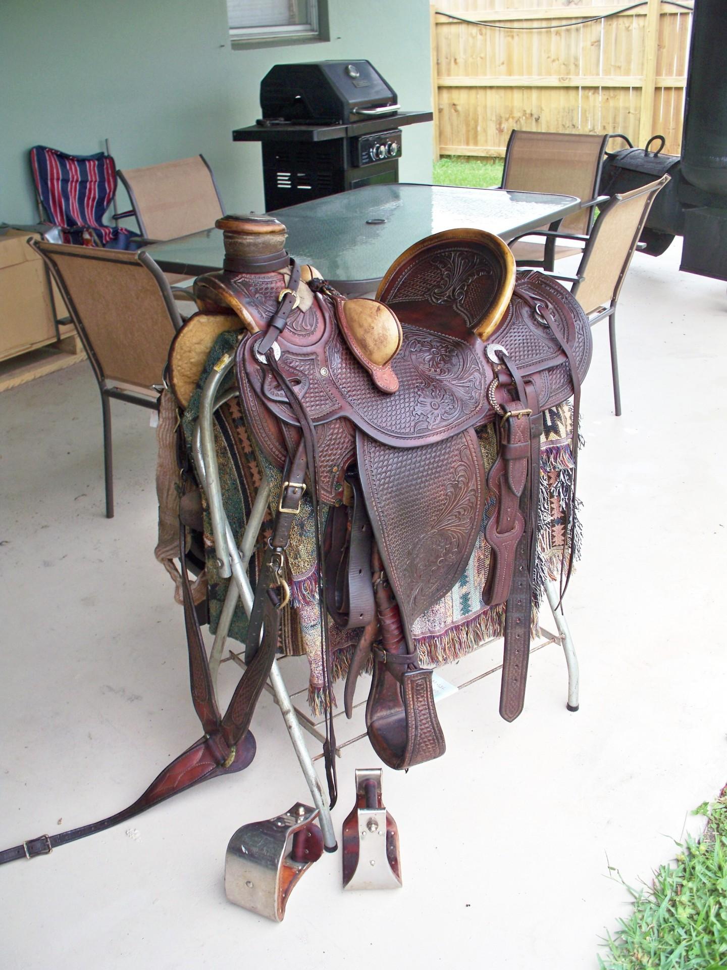Ben Swanke Wade Saddle Rare Find