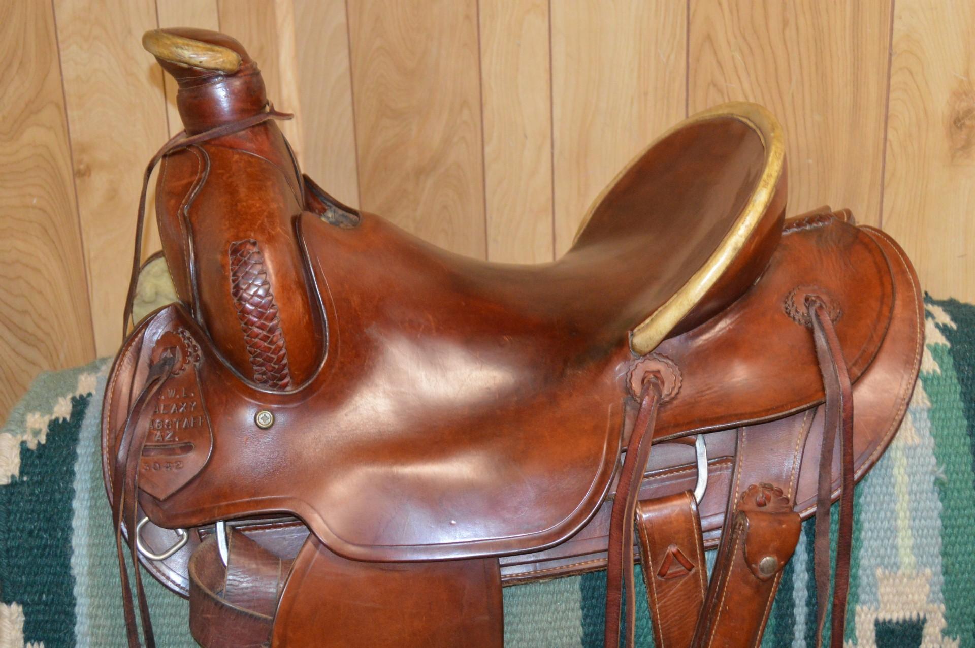 Swl Galaxy Ranch Roping Saddle16 Inch