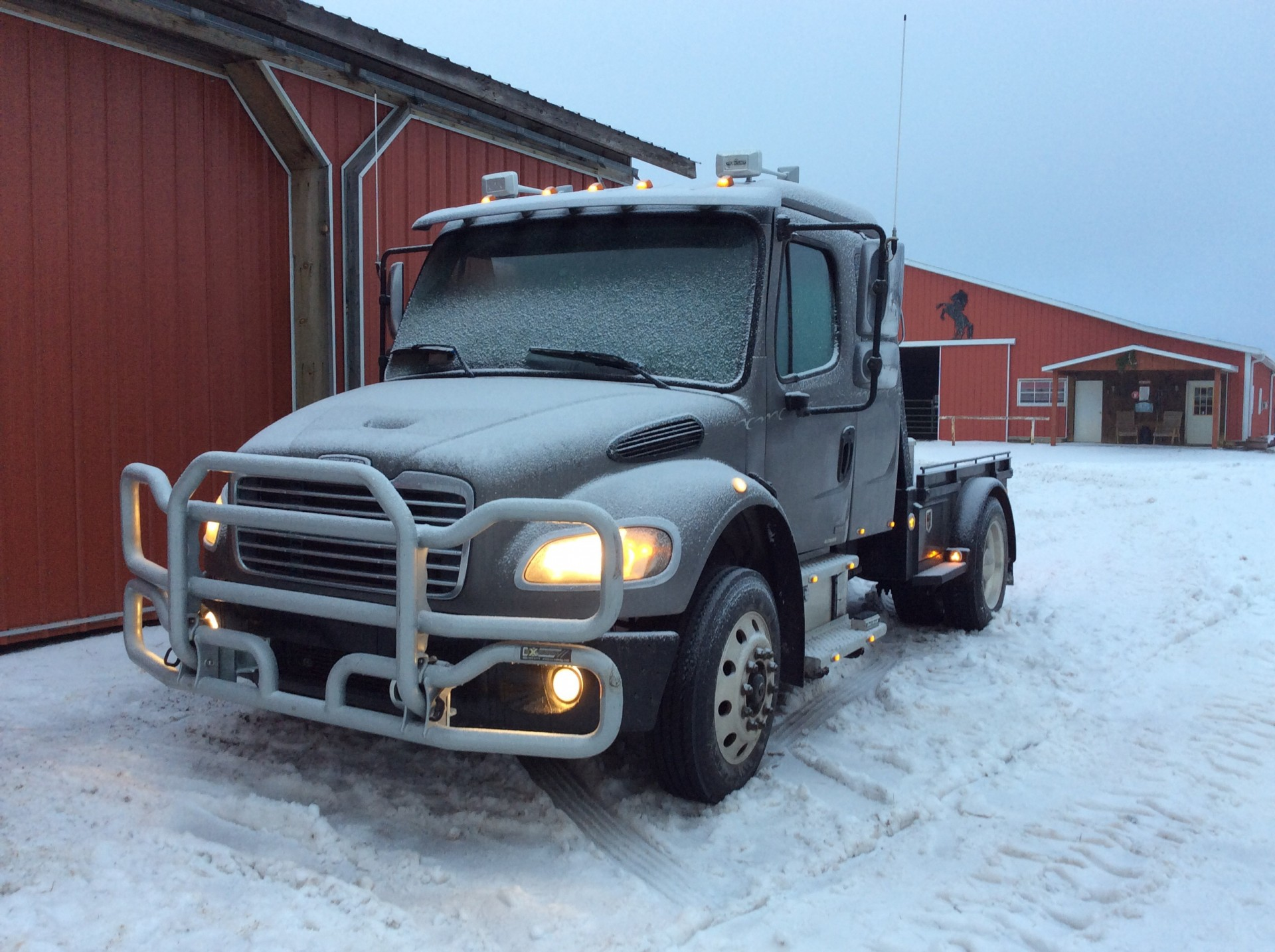 2004 Freightliner M2 Business Class, extended cab, sleeper, Cat, 10