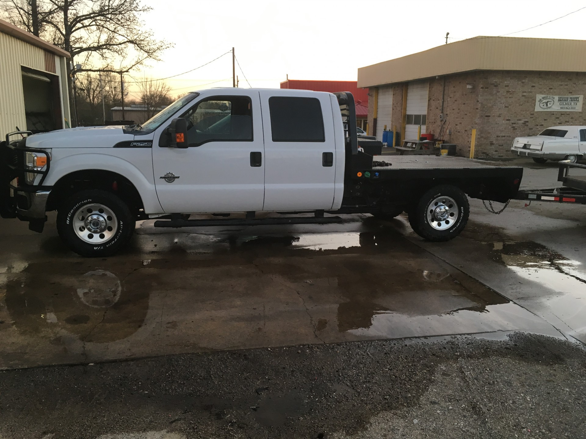 2011 Ford F 250 4wd Flatbed