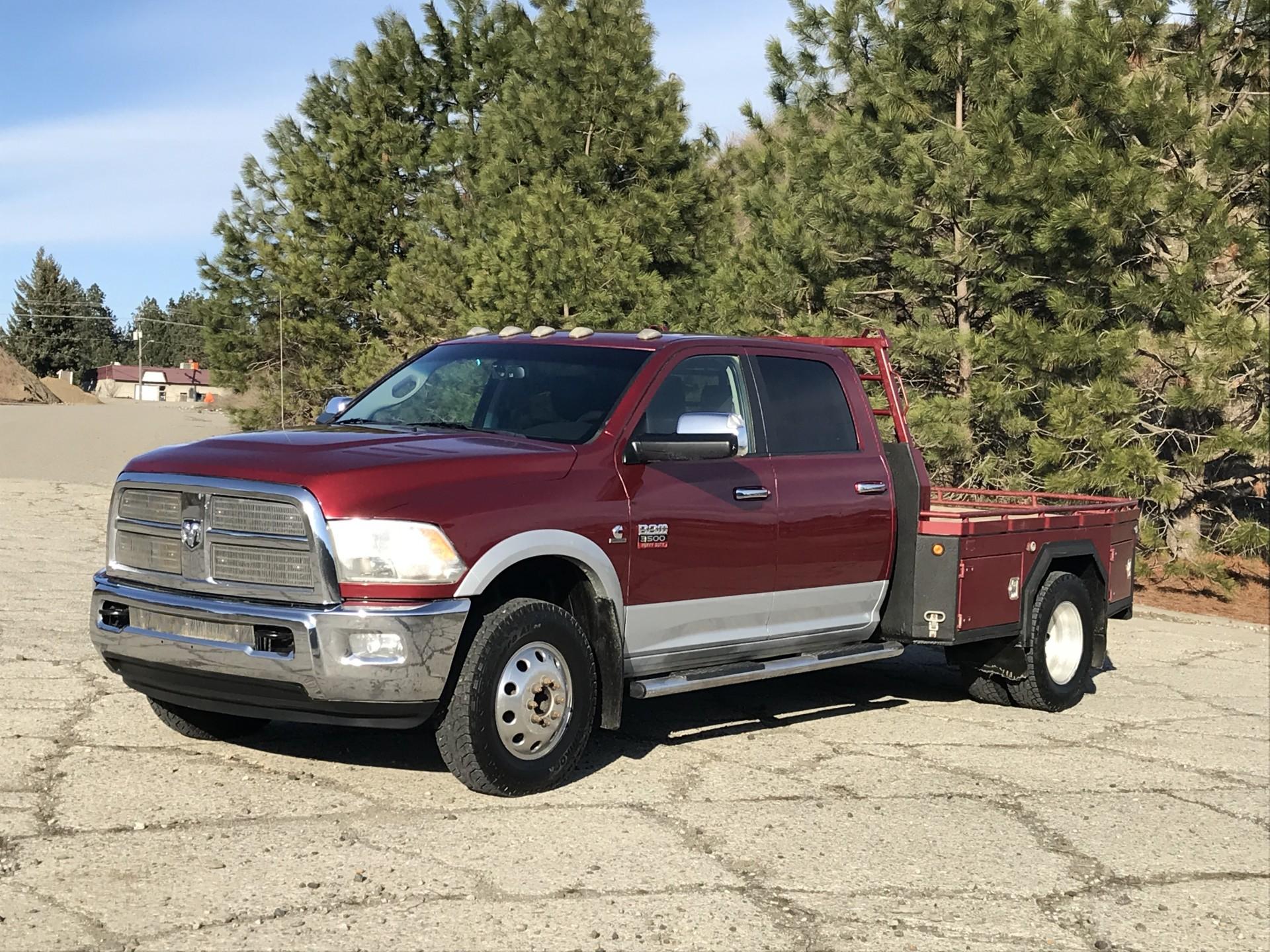 2012 Dodge Ram 3500 Flatbed