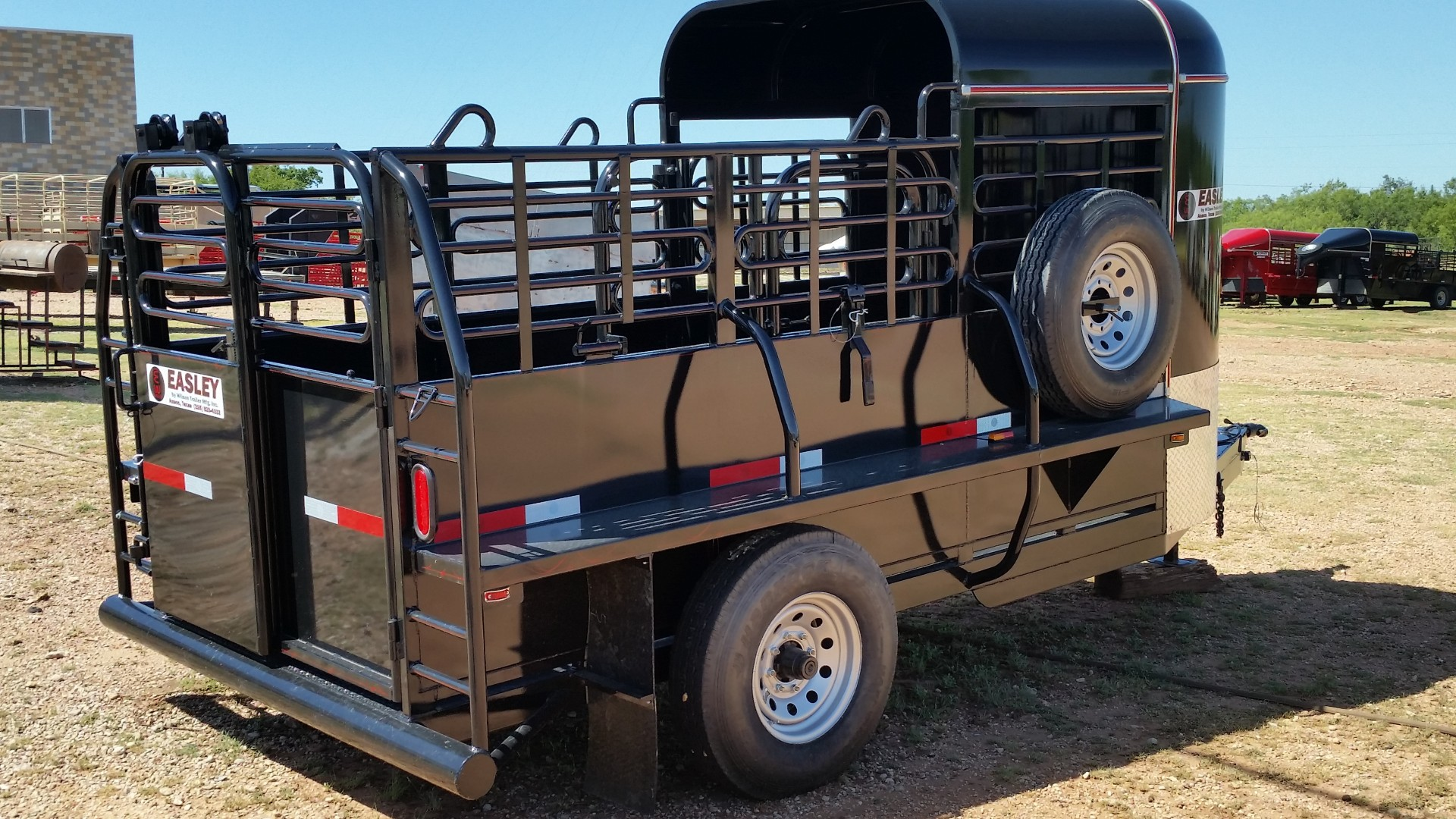2016 Easley stock trailer