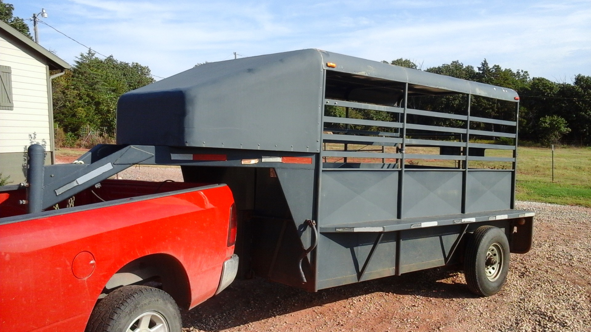 2010 Shop Built stock trailer