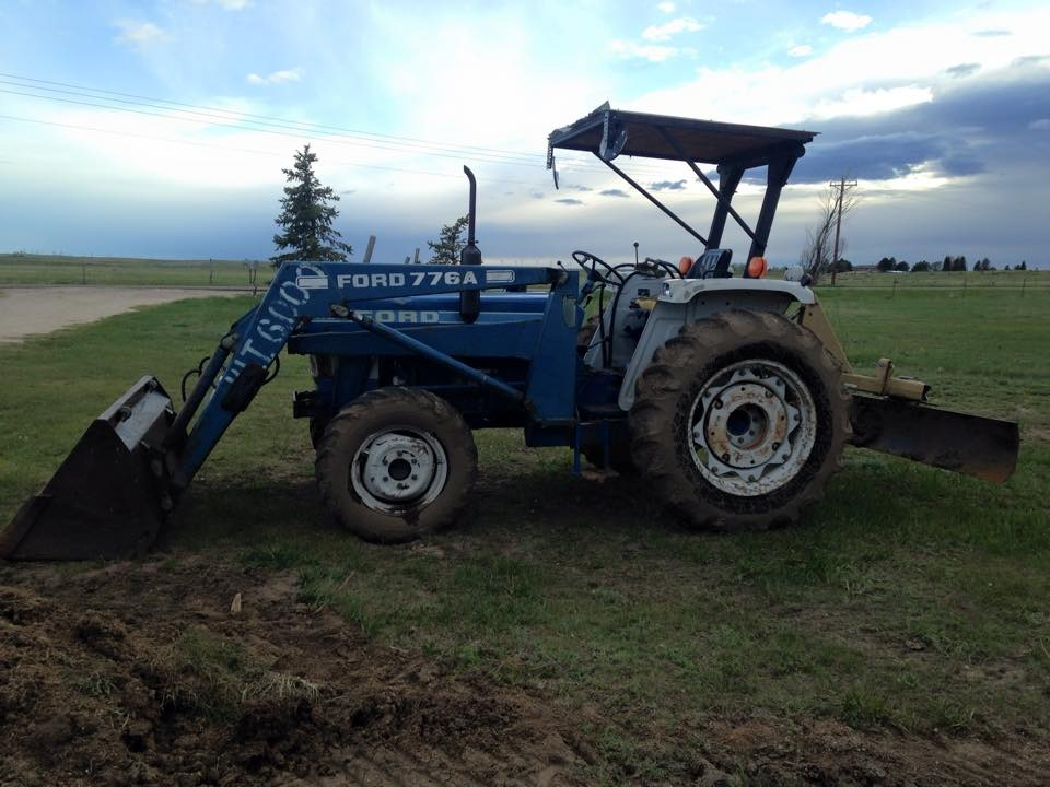 Ford 2110 Tractor : Price reduced ford tractor with implements