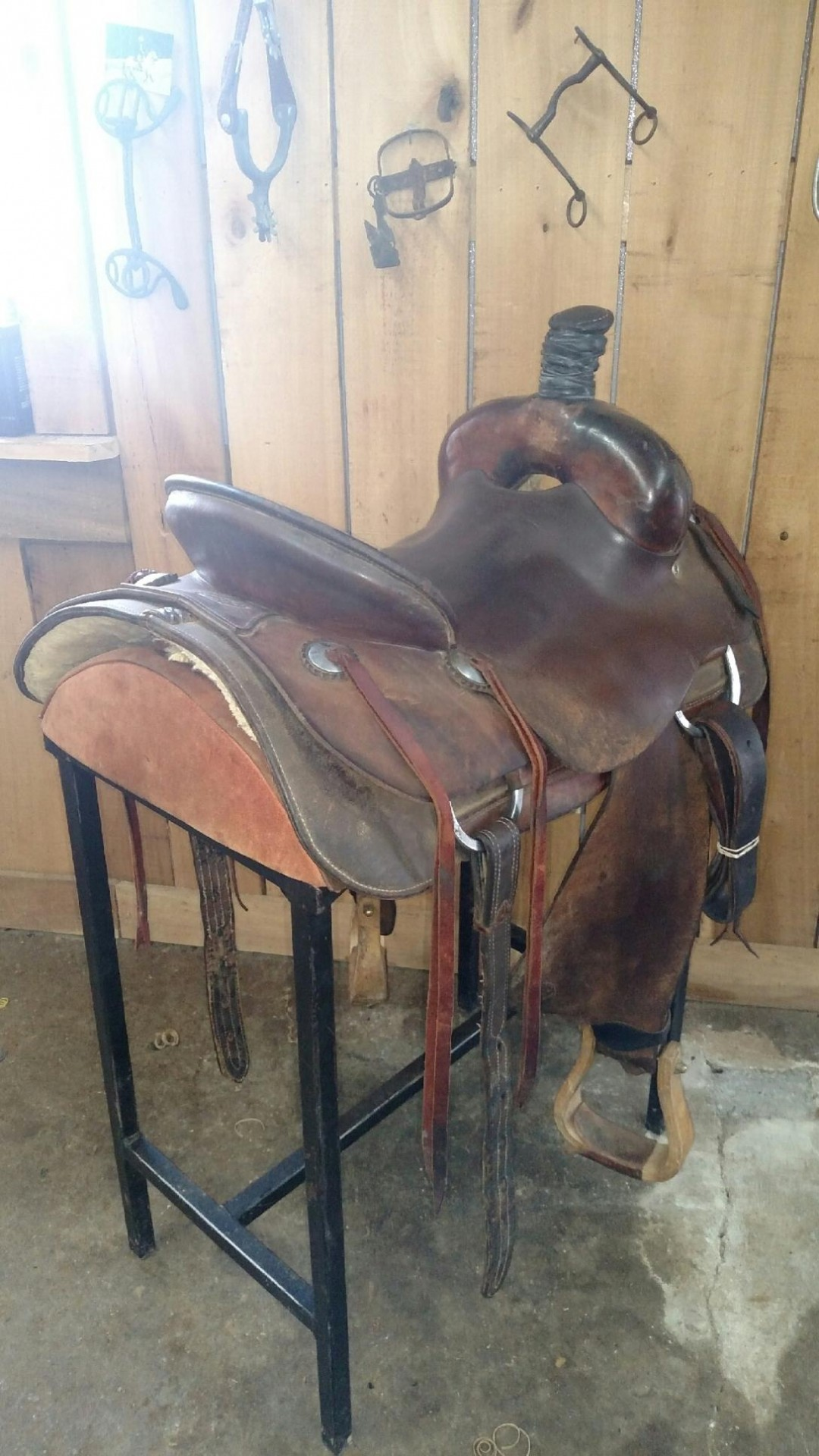 Tim Piland Ranch/Roping/Cutting Saddle