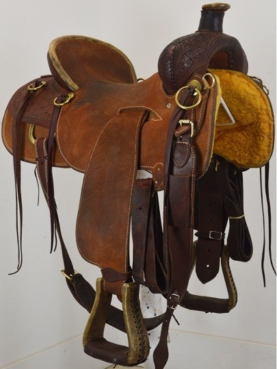 """Used 16.5"""" SRS Saddlery - Will James"""