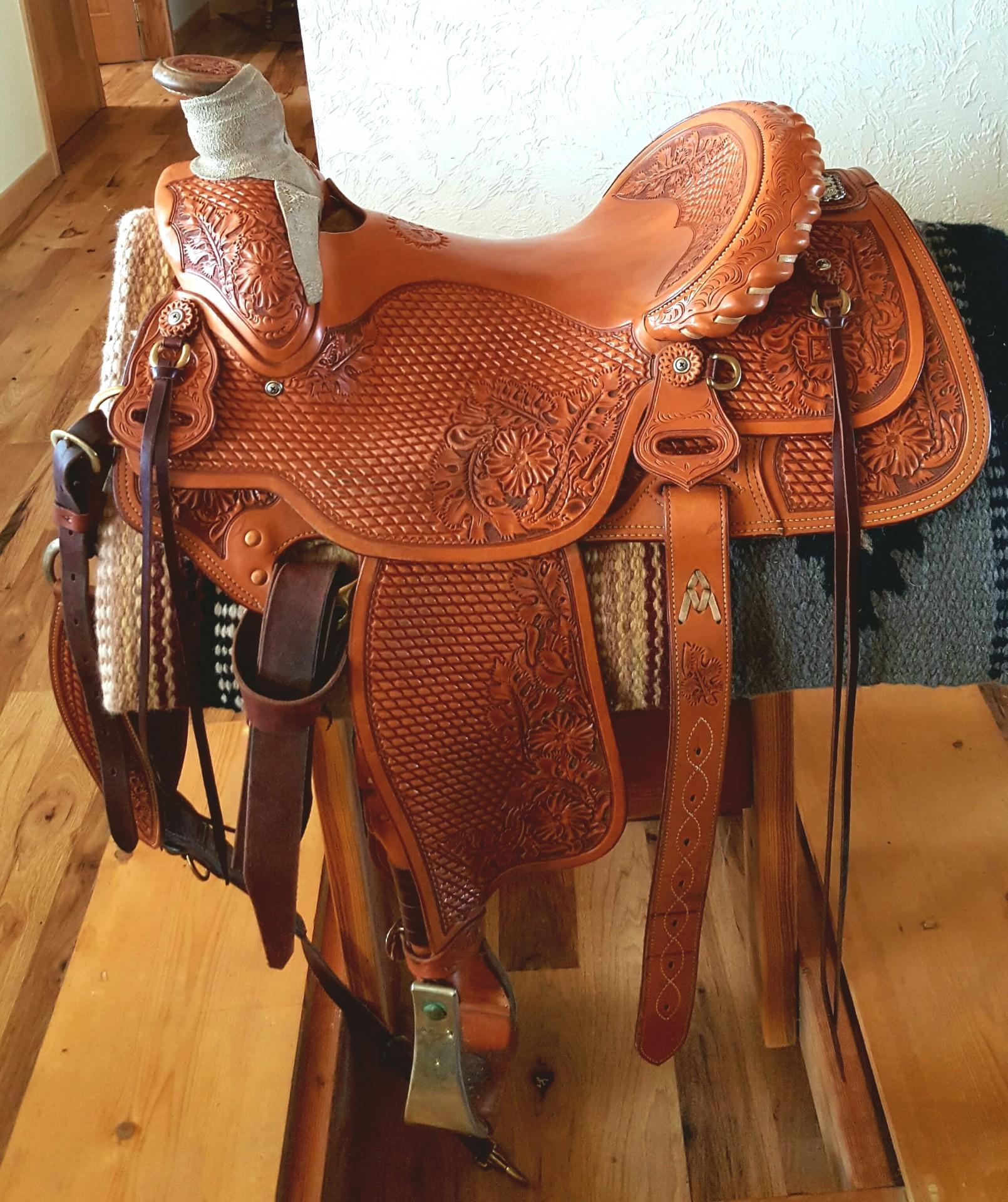 Rich Boyer Ranch Saddle