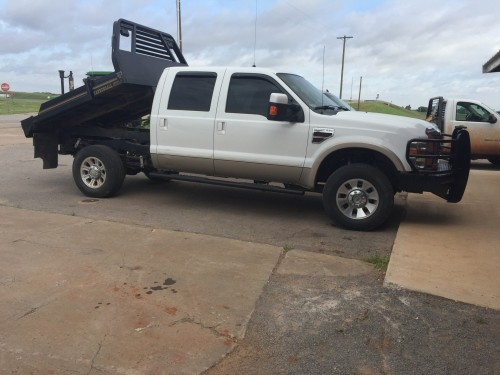 2008 F 250 King Ranch Cannonball Bale Bed