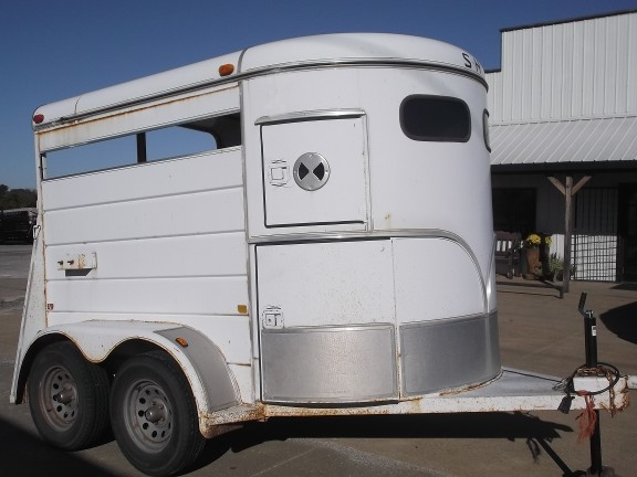used 1995 s  u0026 h horse trailer in stillwater  ok