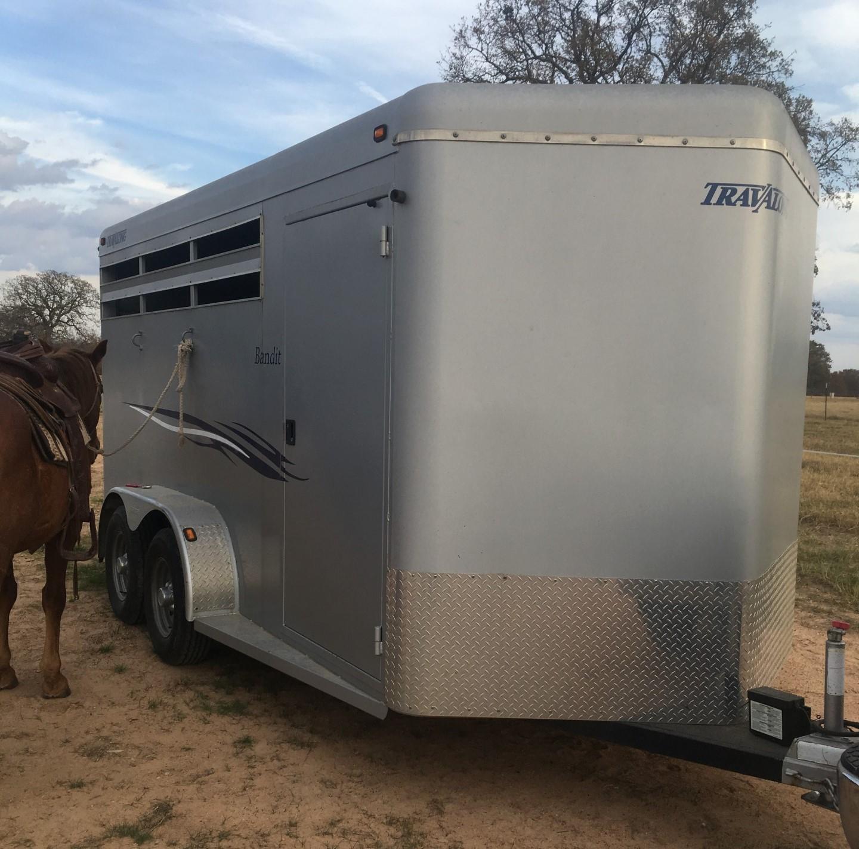 2008 Travalong bandit 3 horse slant