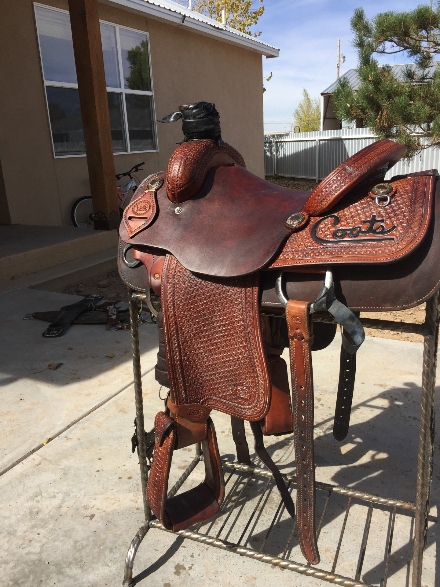 COATS SADDLE FOR SALE 14 1/2""