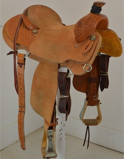 Used 15 Quot Cactus Saddlery Ranch Saddle With Lewis Tree