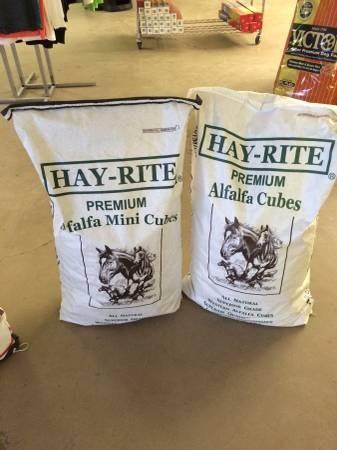 Hay-Rite Alfalfa Cubes - Texas