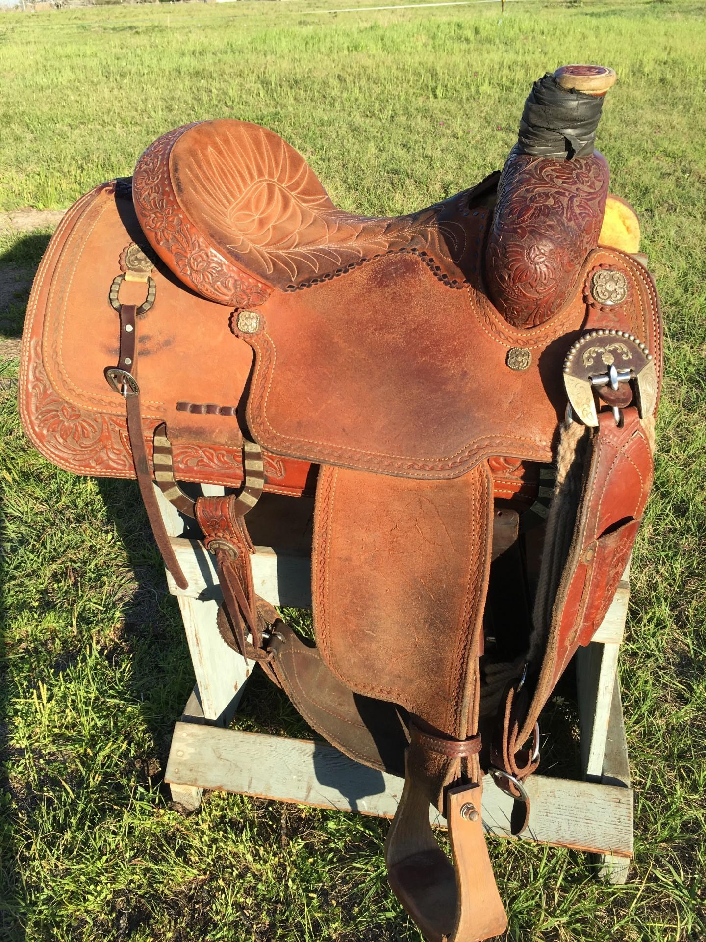 Carl Ammerman Elite Roping Saddle REDUCED