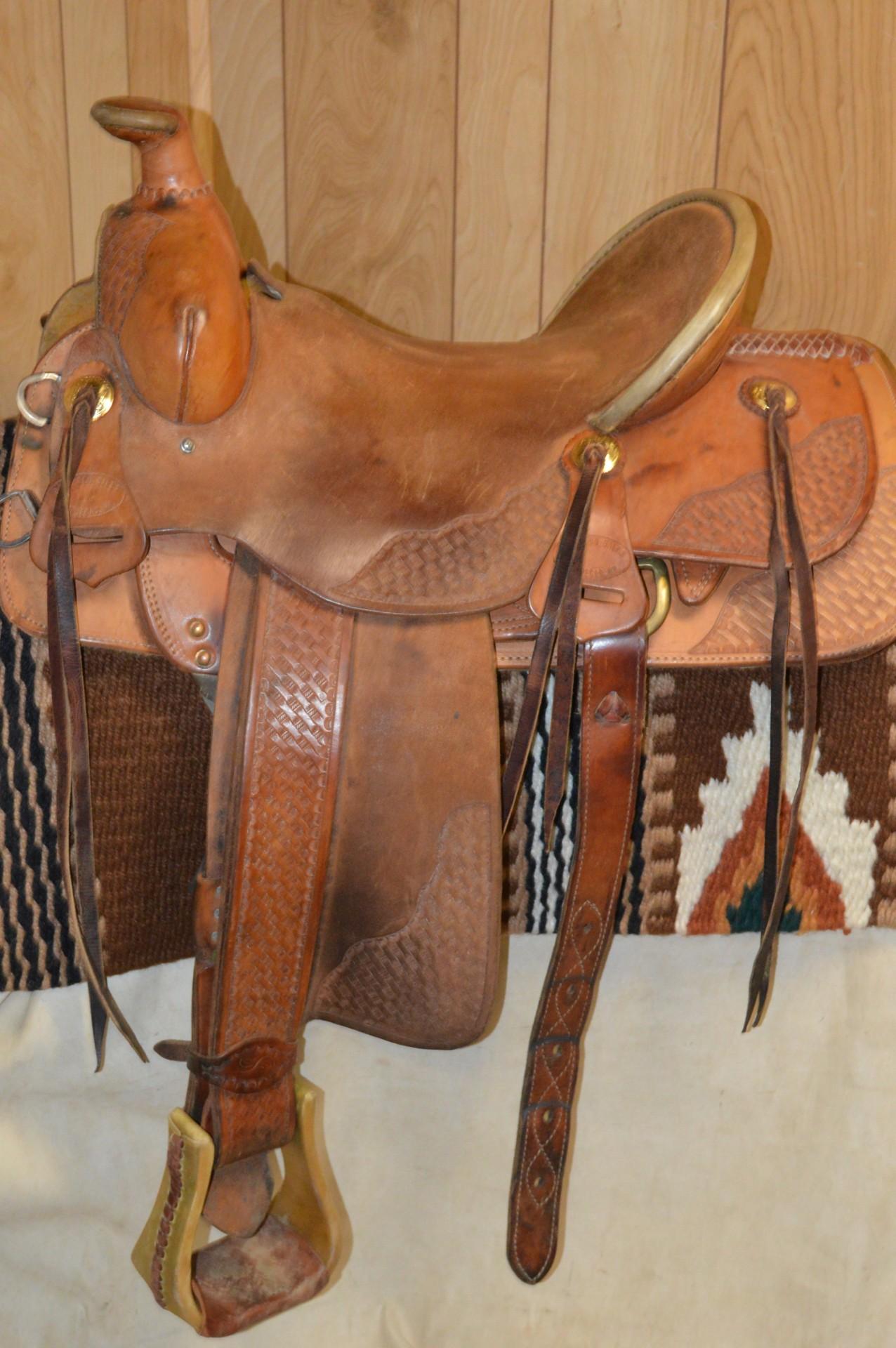 Used Trucks Las Vegas >> Buckaroo Las Vegas Ranch Roper Saddle 16 inch