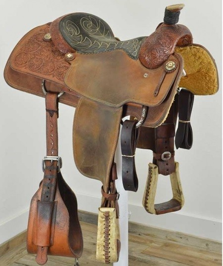 Used 14 5 Quot Relentless Calf Roping Saddle By Cactus Saddlery