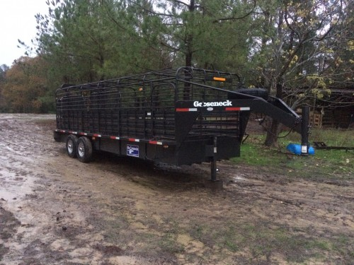 2011 Gooseneck Cattle Trailer