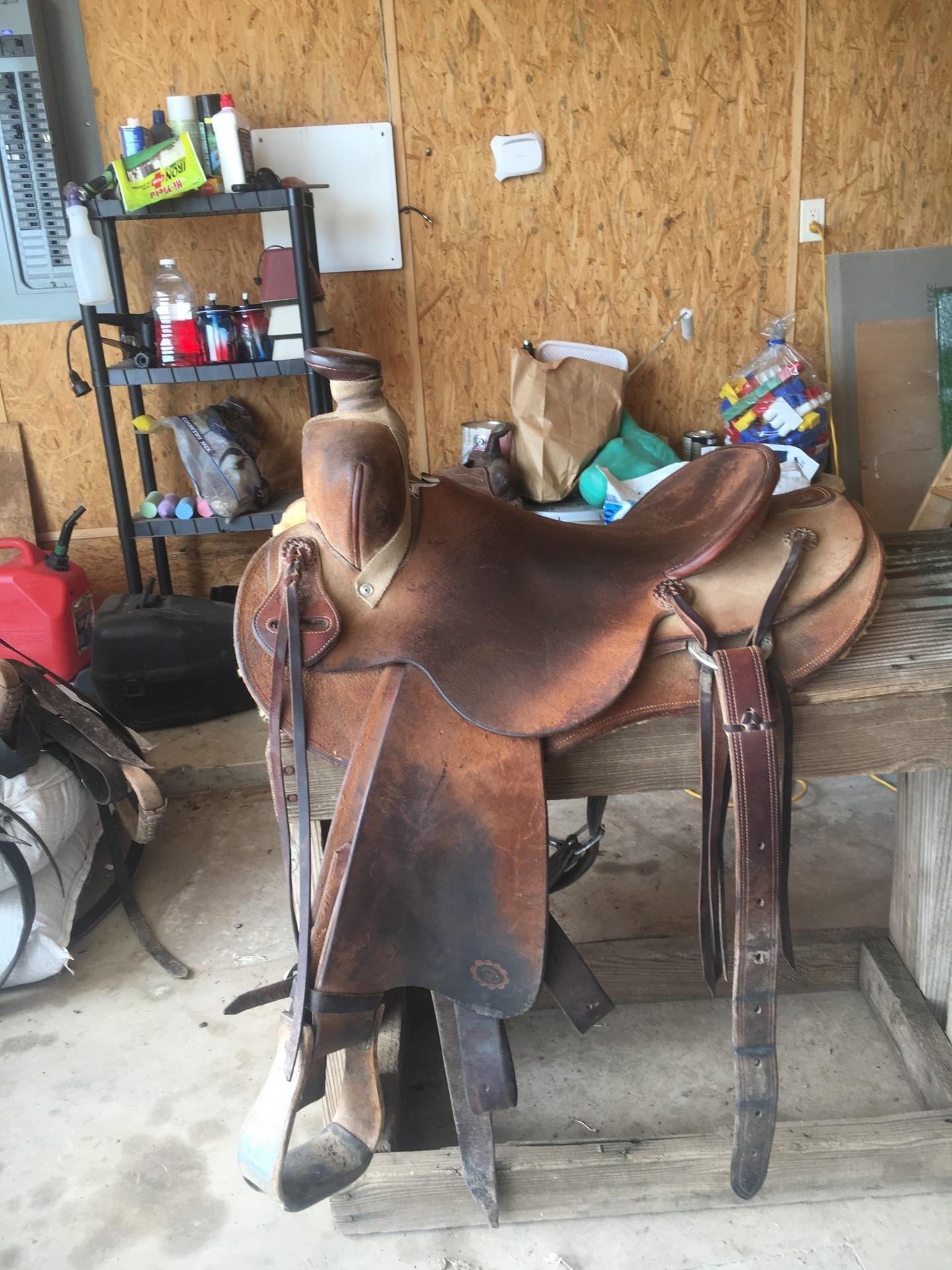16 inch Matt Bruton saddle