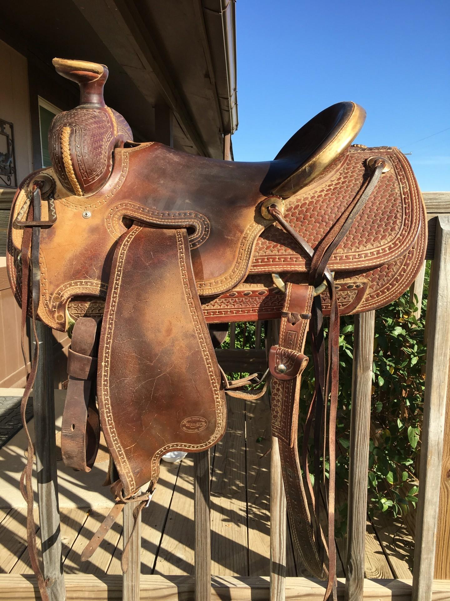 Teskeys Ranch Saddle