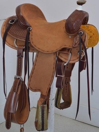 "New! 16"" Circle Y Saddlery Select Clifton Ranch Saddle"