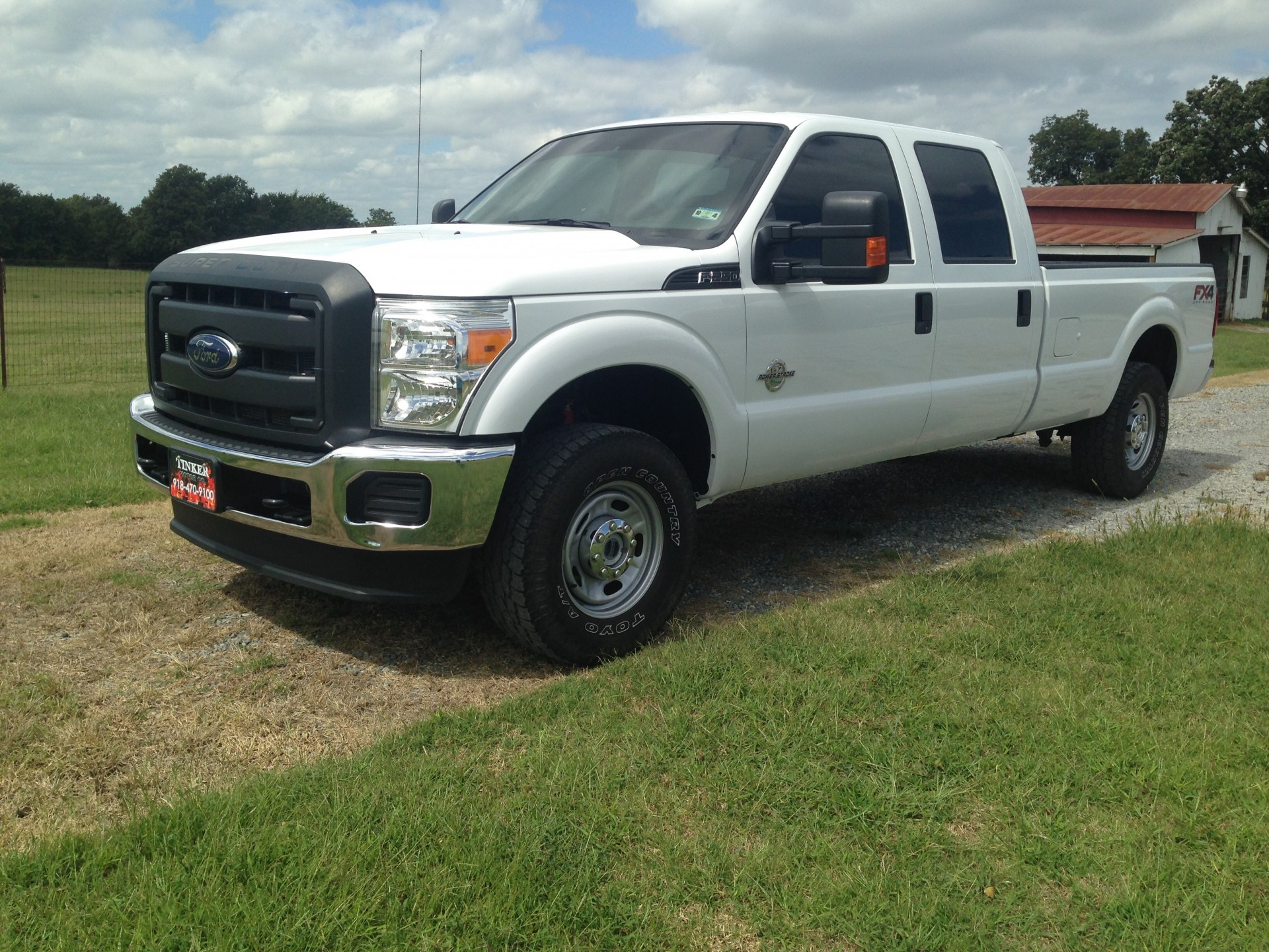 2014 ford f250 diesel fx4 crew cab lb stk 8475. Black Bedroom Furniture Sets. Home Design Ideas