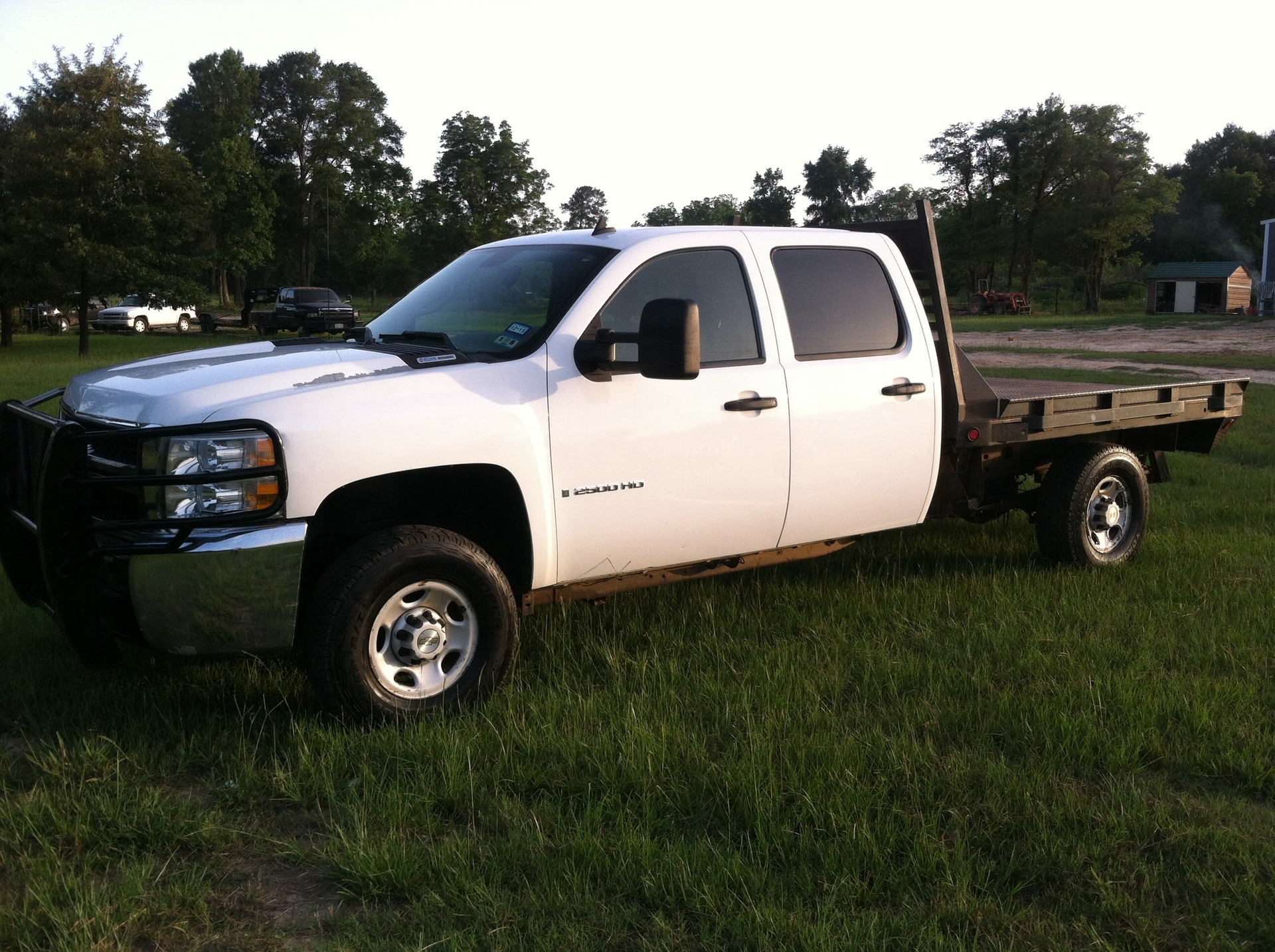 2008 chevrolet 2500 crew cab 4x4 flatbed duramax dsl. Black Bedroom Furniture Sets. Home Design Ideas