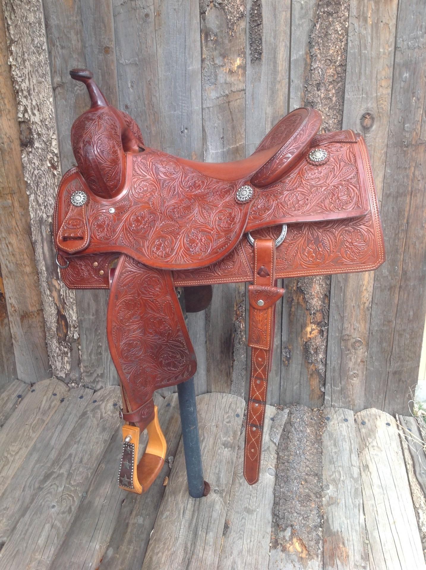 Jeys Custom Saddles Cow Horse Saddle