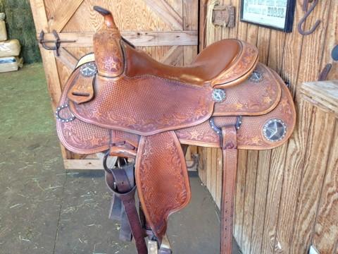 Silver mesa saddle for sale