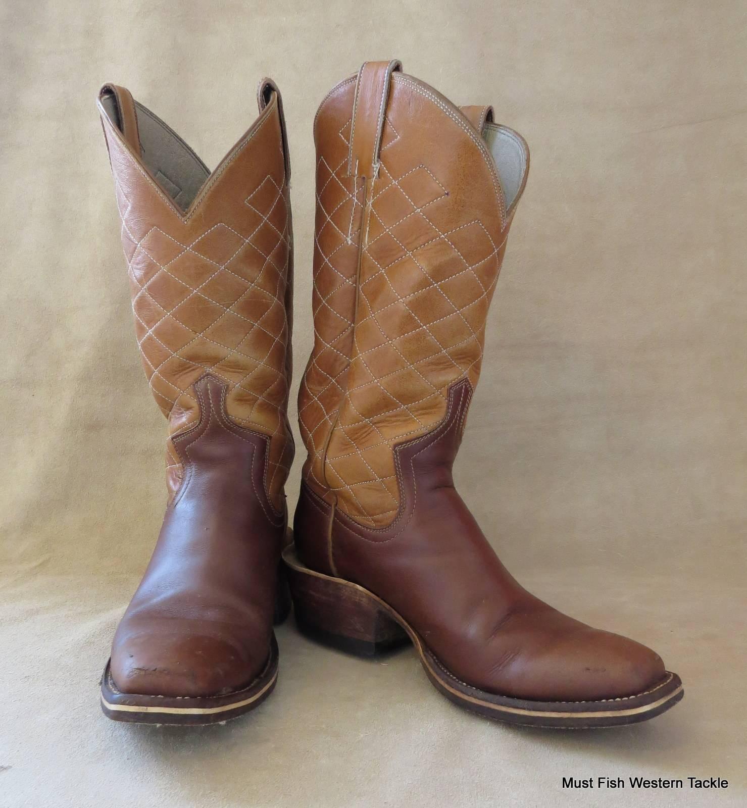 Handmade VIDAL BUSTAMANTE Cowboy Boots Men's Size 7D or ...