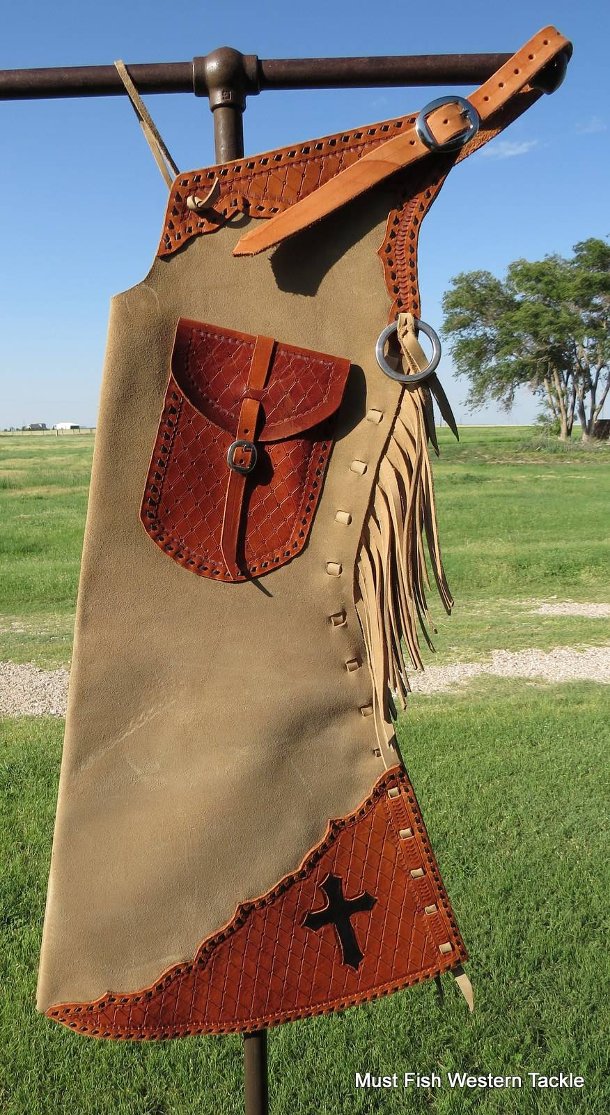 Jd Handmade Creations: New Handmade JD HENRY Step In Bell Buckstitched Chaps