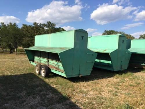 Ranchworldads Trailers >> Boyd Industries – 8'X16' BOYD BUILT Portable Cattle Bulk Feeder